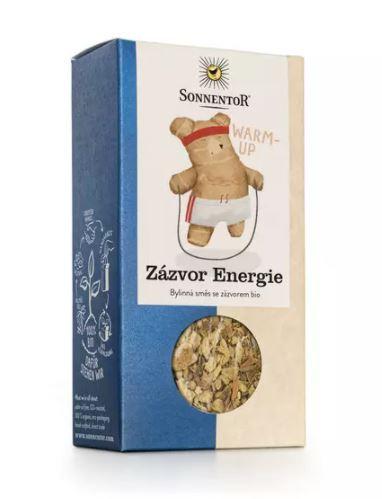 BIO bylinný čaj se zázvorem, Sonnentor Zázvor Energie, sypaný, 100 g
