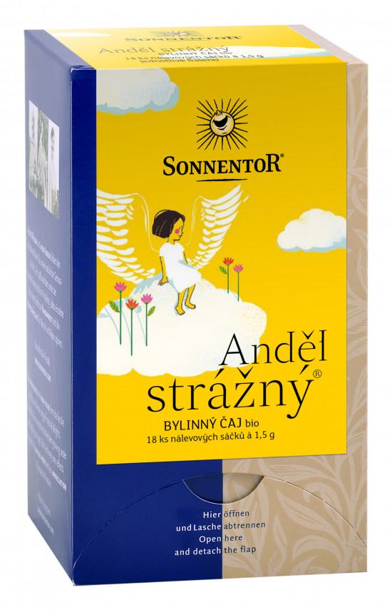 BIO bylinný čaj, Sonnentor Anděl strážný, porcovaný, 18 sáčků
