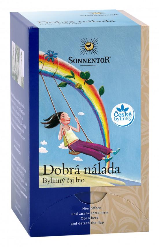 BIO bylinný čaj, Sonnentor Dobrá nálada, porcovaný, 18 sáčků-2265