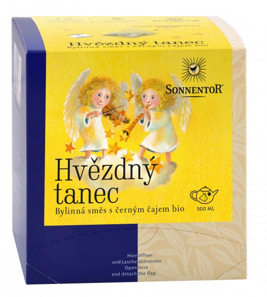 BIO bylinný čaj, Sonnentor Hvězdný tanec, porcovaný, 12 pyramidálních sáčků-2161