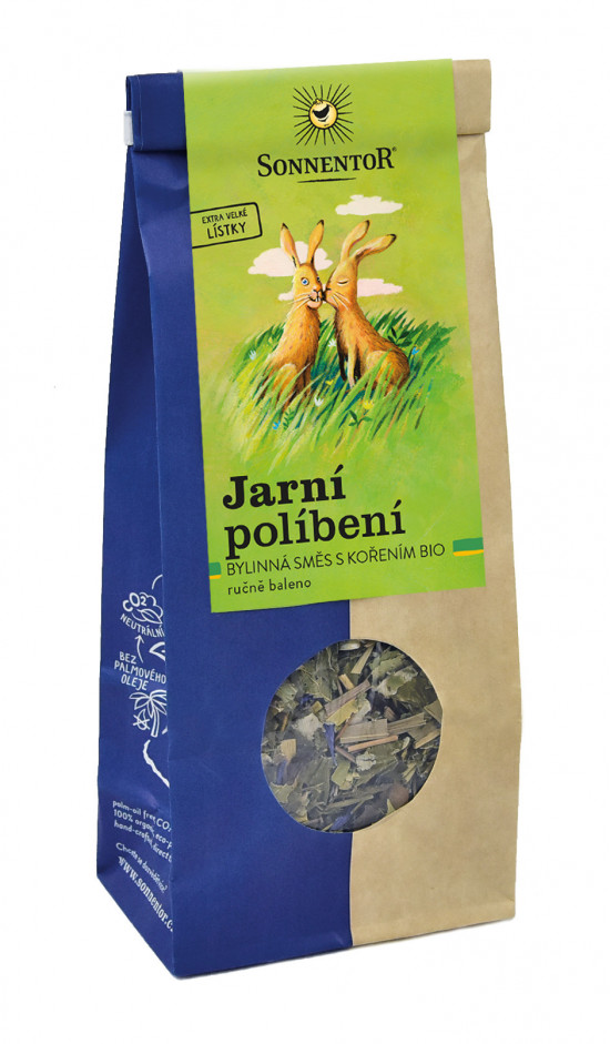 BIO bylinný čaj, Sonnentor Jarní políbení, sypaný, 80 g-2174