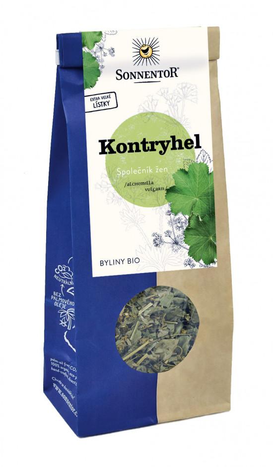 BIO bylinný čaj, Sonnentor Kontryhel obecný, Alchemilla vulgaris, sypaný, 40 g