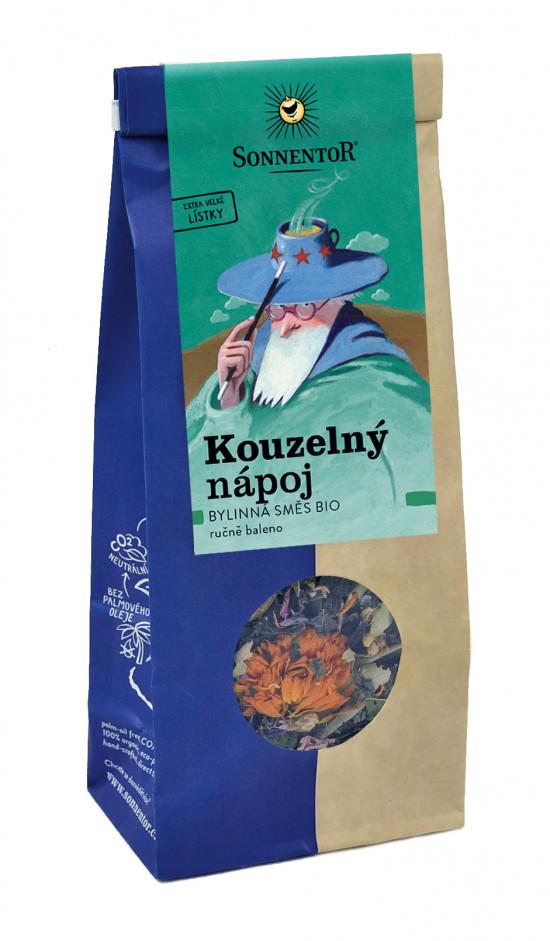 BIO bylinný čaj, Sonnentor Kouzelný nápoj, sypaný, 50 g