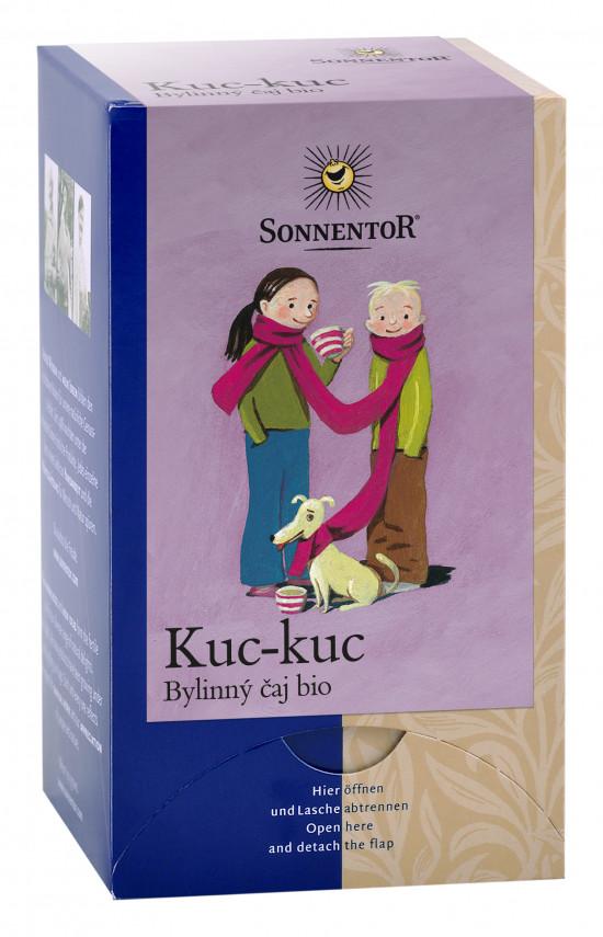 BIO bylinný čaj, Sonnentor Kuc-kuc, porcovaný, 18 sáčků-2232