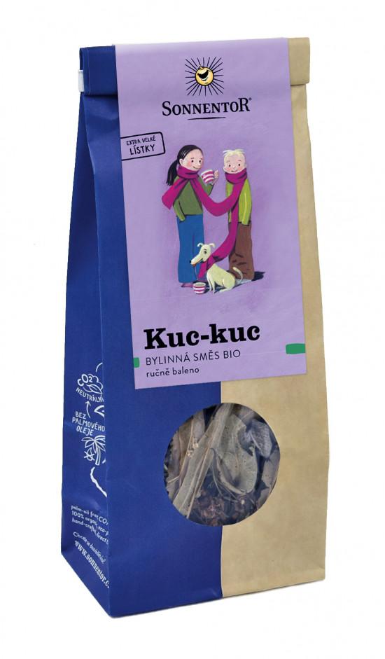 BIO bylinný čaj, Sonnentor Kuc - kuc, sypaný, 50 g