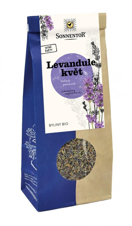 BIO bylinný čaj, Sonnentor Levandule květ, sypaný, 70 g-2102