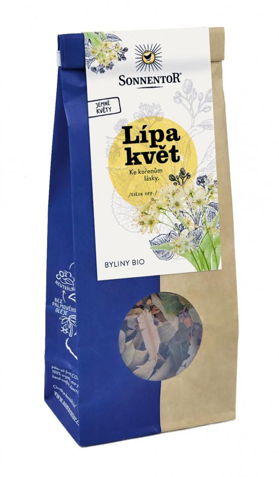 BIO bylinný čaj, Sonnentor Lípa květ, Tilia spp., sypaný, 35 g-2106