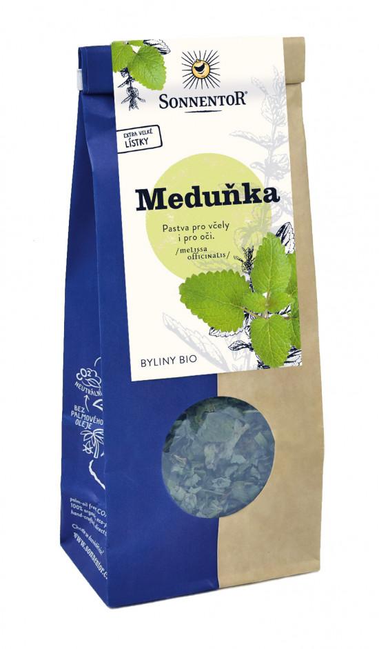 BIO bylinný čaj, Sonnentor Meduňka, Melissa officinalis, sypaný, 50 g-2133