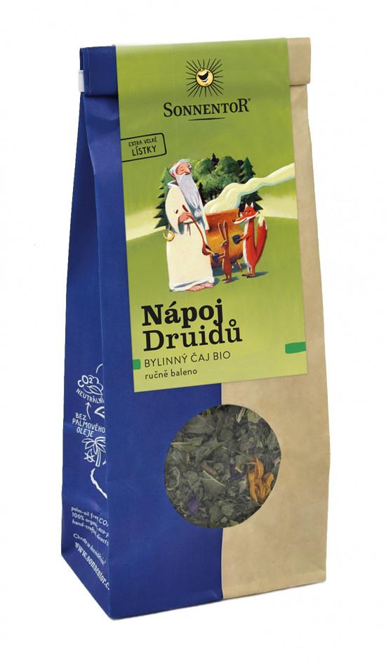 BIO bylinný čaj, Sonnentor Nápoj Druidů, sypaný, 50 g