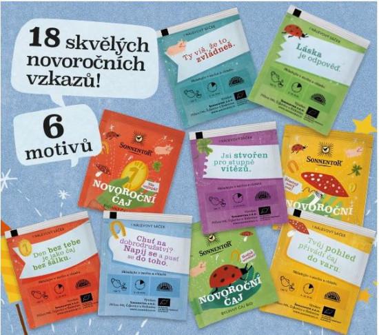 BIO bylinný čaj, Sonnentor Novoroční čaj, porcovaný, 18 sáčků-5199