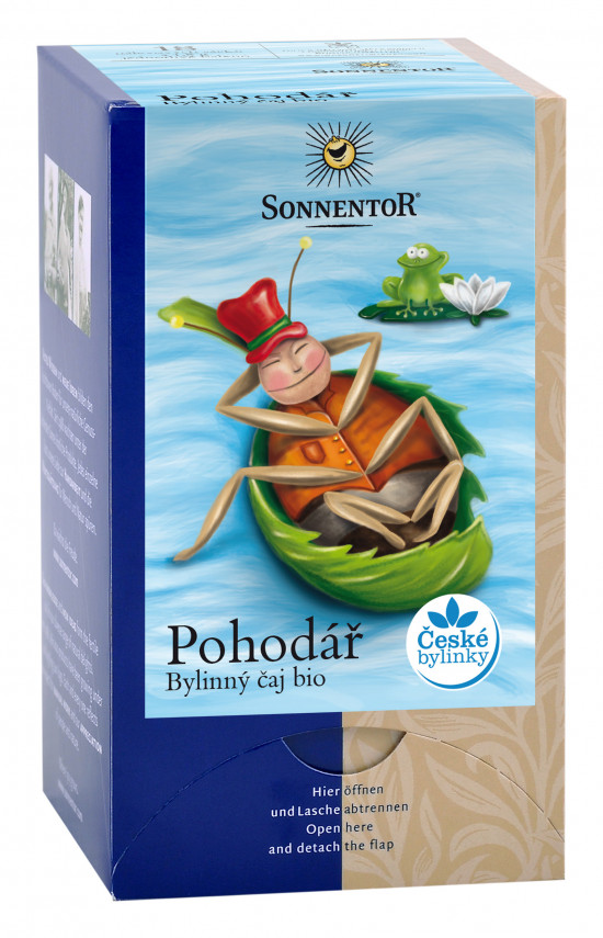 BIO bylinný čaj, Sonnentor Pohodář, porcovaný, 18 sáčků-2151