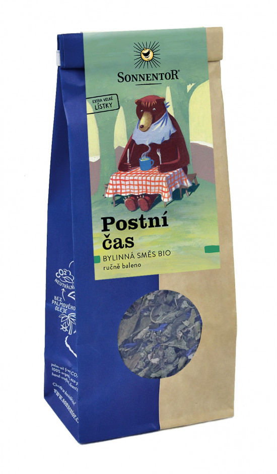 BIO bylinný čaj, Sonnentor Postní čas, sypaný, 50 g