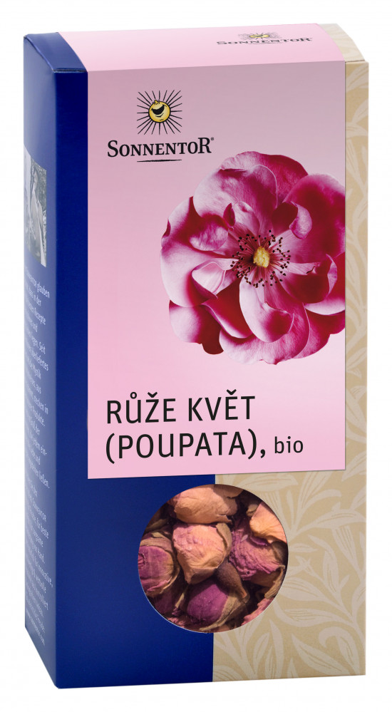 BIO bylinný čaj, Sonnentor Růže květ poupata, sypaný, 30 g