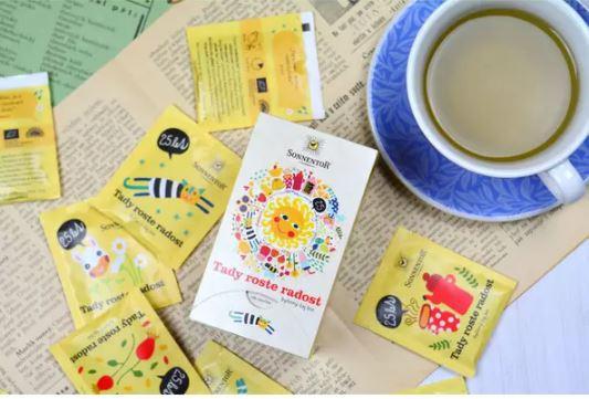 BIO bylinný čaj, Sonnentor Tady roste radost, porcovaný, 18 sáčků-5586