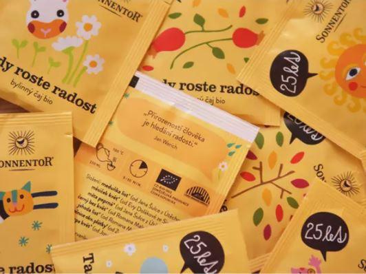 BIO bylinný čaj, Sonnentor Tady roste radost, porcovaný, 18 sáčků-5587