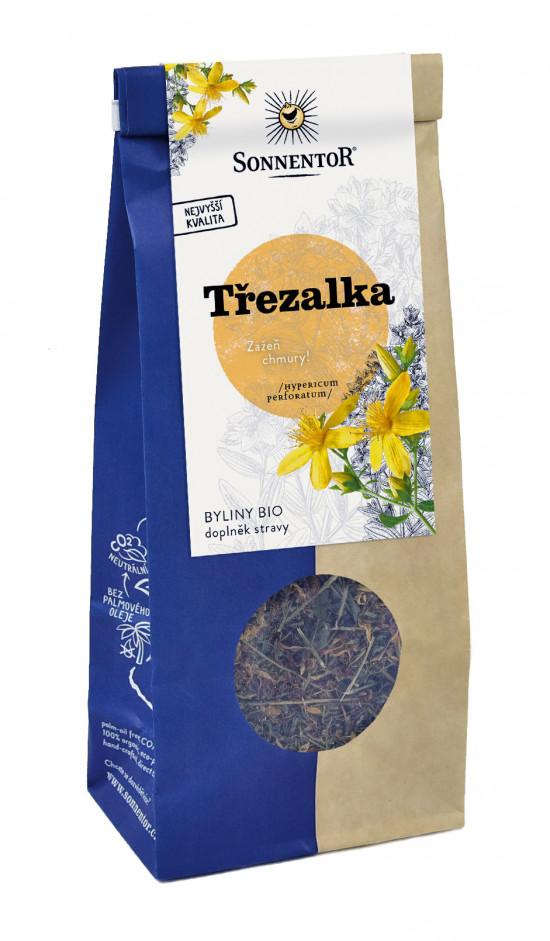 BIO bylinný čaj, Sonnentor Třezalka tečkovaná, Hypericum perforatum, sypaný, 60 g