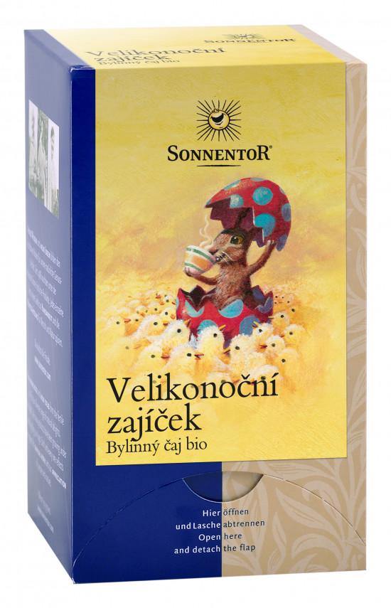 BIO bylinný čaj, Sonnentor Velikonoční zajíček, porcovaný, 18 sáčků-2255