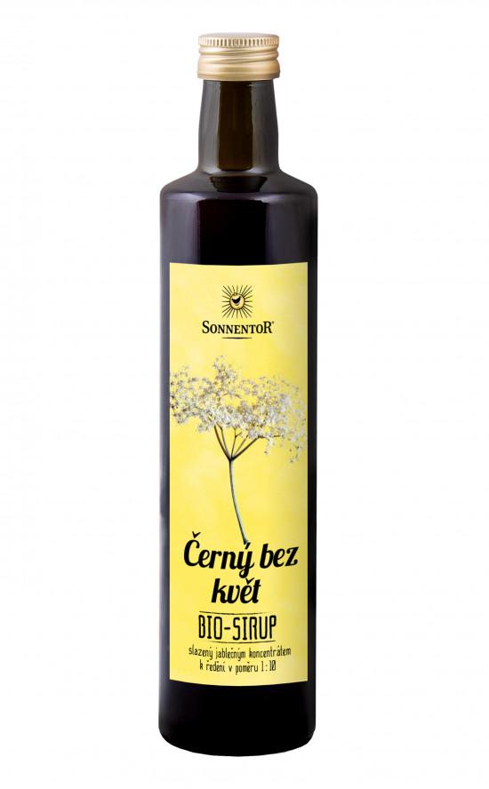 BIO bylinný sirup, Sonnentor Černý bez květ, 500 ml