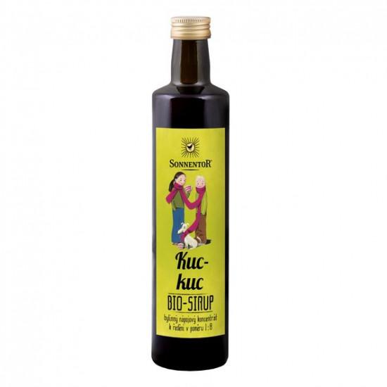 BIO bylinný sirup, Sonnentor Kuc-kuc, 250 ml-2336