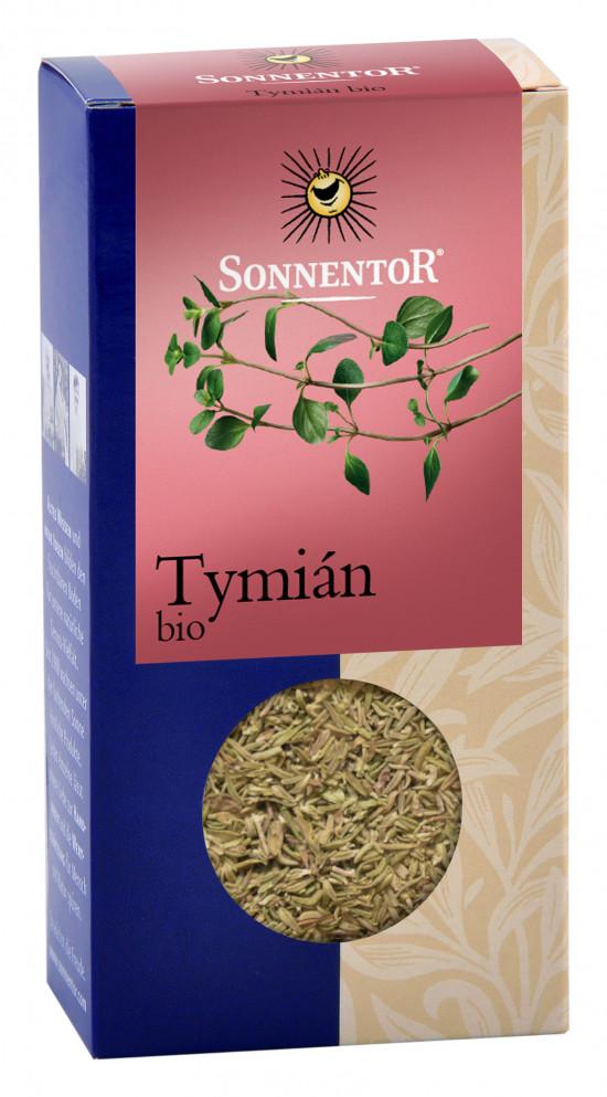 BIO koření, Sonnentor Tymián drhnutý, Thymus vulgaris, krabička, 20 g