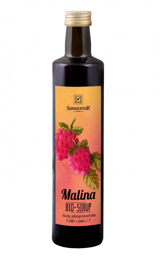 BIO ovocný sirup, Sonnentor Malina, 500 ml-1996