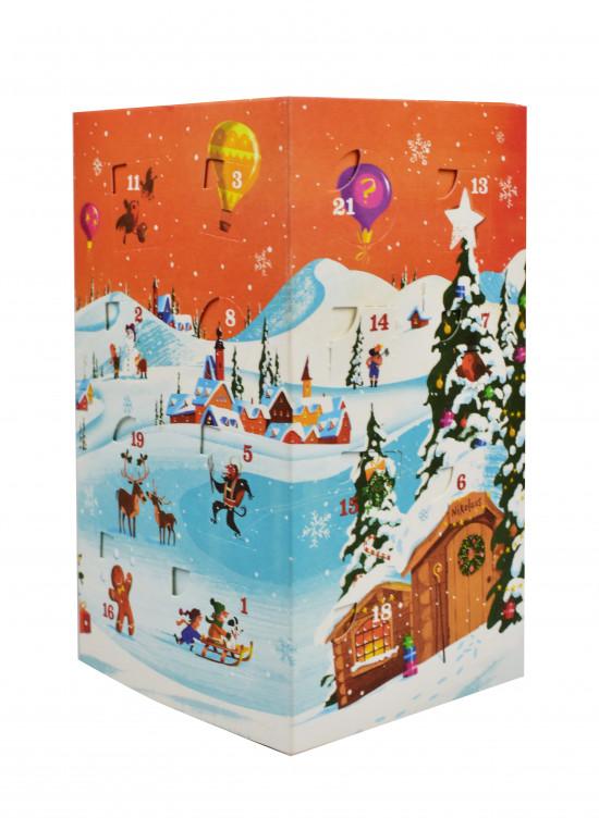 BIO poznávací sada koření a kořenících směsí, Sonnentor Adventní kalendář, krabička, 24 sáčků, 116 g-2207