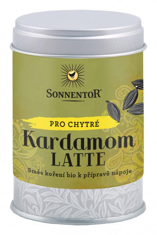 BIO směs koření pro přípravu nápoje, Sonnentor Kardamom Latte, dóza, 45 g