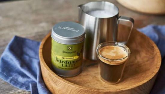 BIO směs koření pro přípravu nápoje, Sonnentor Kardamom Latte, krabička, 45g-5615