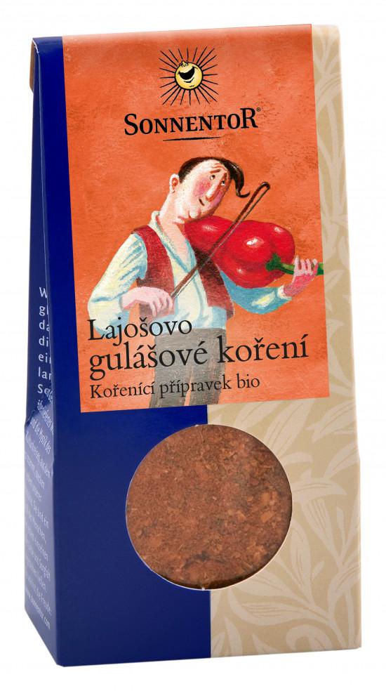 BIO směs koření, Sonnentor Lajošovo gulášové koření, krabička, 50 g-2155
