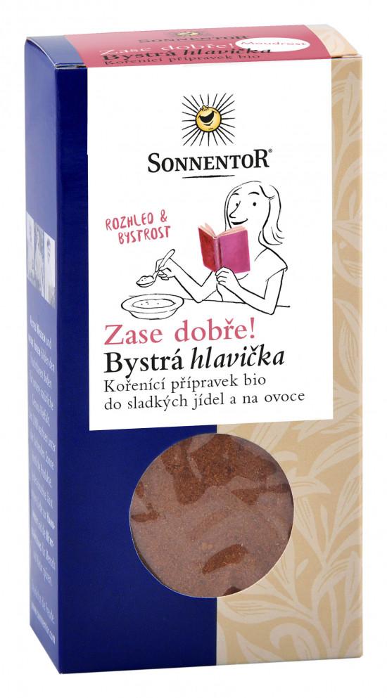 BIO směs koření, Sonnentor Zase dobře - Bystrá hlavička, krabička, 70 g
