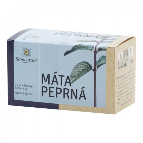 Čaj bylinný Máta peprná bio porcovaný-2346