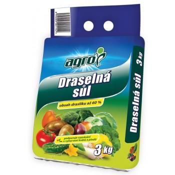 Draselná sůl Agro, balení 3 kg