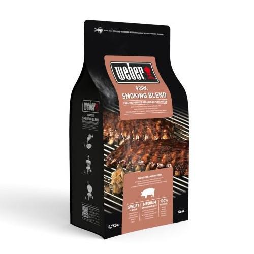 Dřevěné udící lupínky na vepřové maso Weber, 0.7 kg-1638