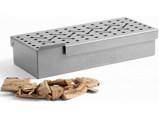 Dřevěné udící lupínky na vepřové maso Weber, 0.7 kg-1639