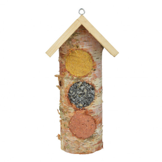 Dřevěné závěsné krmítko pro ptáky, Esschert Design Dům