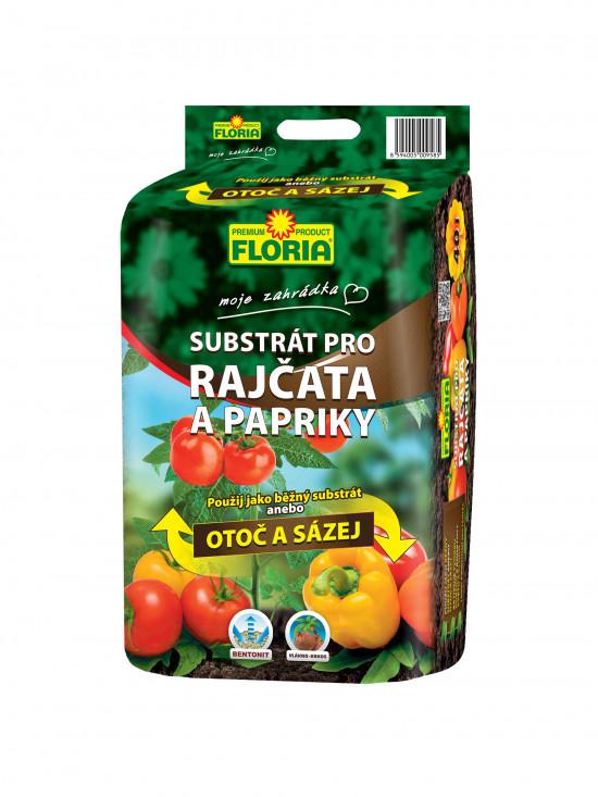 FLORIA Substrát na rajčata a papriky 40l-1759