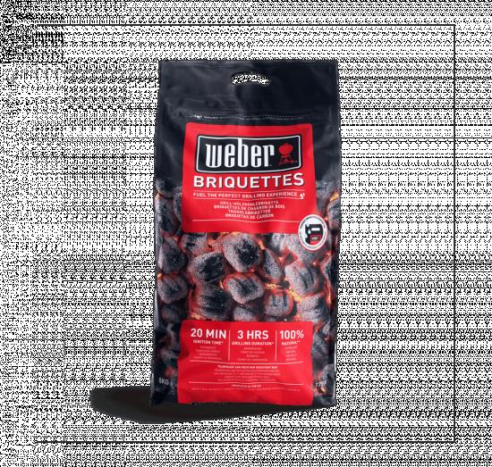 Grilovací dřevěné brikety Weber, 8 kg