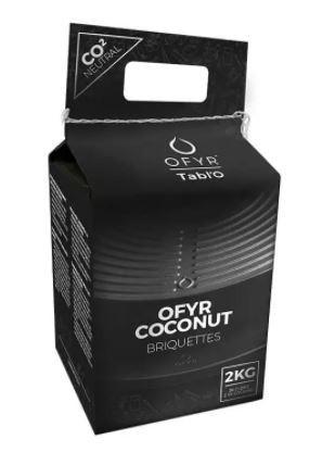 Grilovací kokosové brikety OFYR coconut, 2 kg