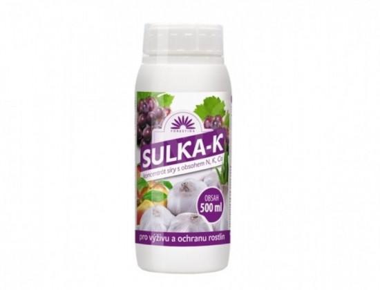 Hnojivo + likvidátor chorob a škůdců, Forestina SULKA-K, balení 500 ml
