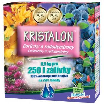 Hnojivo na BORŮVKY a RODODENDRONY, Agro Kristalon, balení 0.5 kg