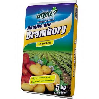 Hnojivo na BRAMBORY, Agro, balení 5 kg-3255