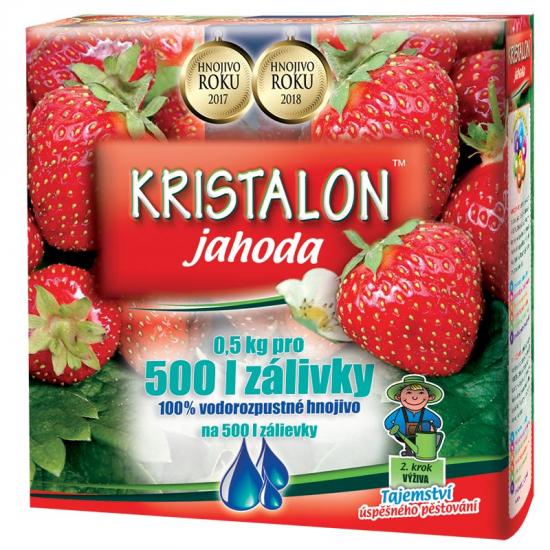 Hnojivo na JAHODY, Agro Kristalon, balení 0.5 kg-3136