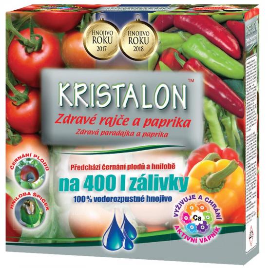 Hnojivo na RAJČATA a PAPRIKY, Agro Kristalon, balení 0.5 kg