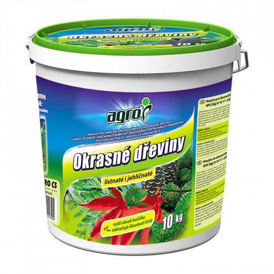 Hnojivo pro OKRASNÉ DŘEVINY, Agro, balení 10 kg