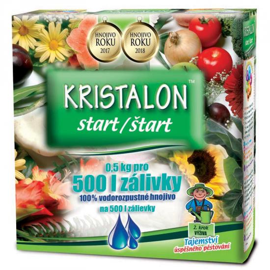 Hnojivo pro počátěční růst, Agro Kristalon START, balení 0.5 kg-3140