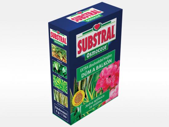 Hnojivo pro pokojové a balkónové rostliny, Substral Osmocote, balení 300 g
