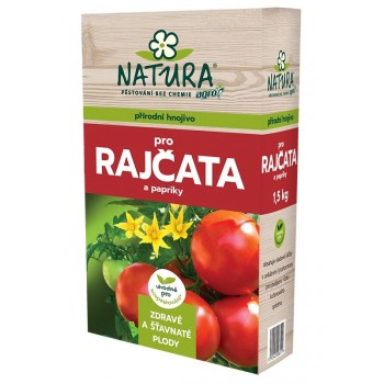 Hnojivo pro RAJČATA a PAPRIKY, Natura, balení 1.5 kg