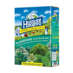 Hoštické hnojivo na JEHLIČANY a OKRASNÉ KEŘE, Forestina, balení 1 kg-3274
