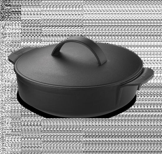 Hrnec litinový bez gril.roštu Gourmet BBQ-1605