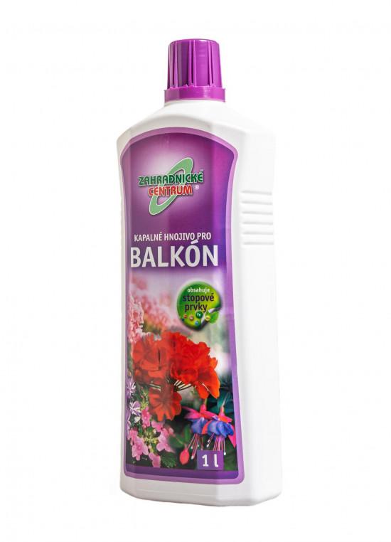 Kapalné hnojivo pro balkónové rostliny, balení 1 l-8948